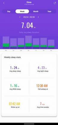 Mi Fit - Sleep 2