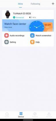 Mobvoi App - Devices 1