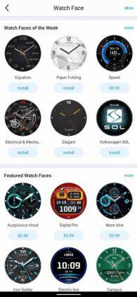 Mobvoi App - Watch Faces 1