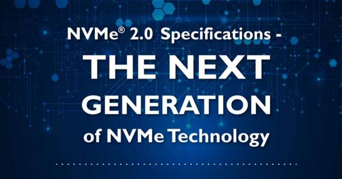 NVMe 2.0 Specification Announced SSD storage specifications NVM Express Technology new Features HDD
