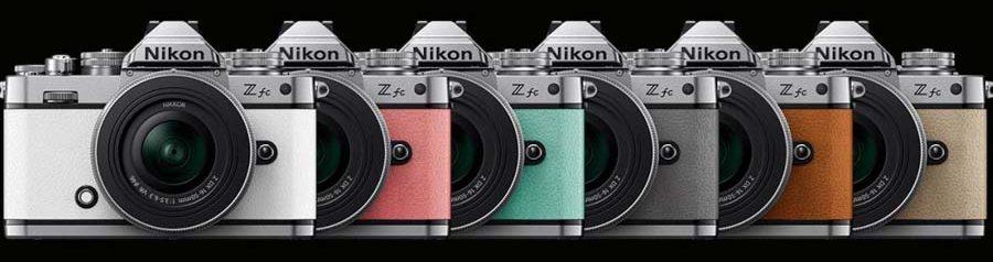 Nikon Z fc color choices