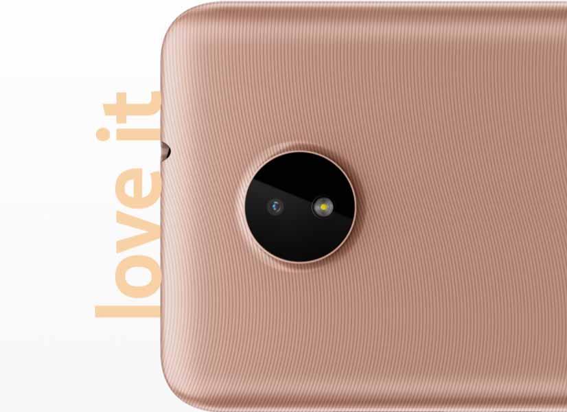 Nokia C20 Circular Camera Bump
