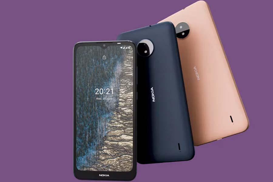 Nokia C20 Design and Display