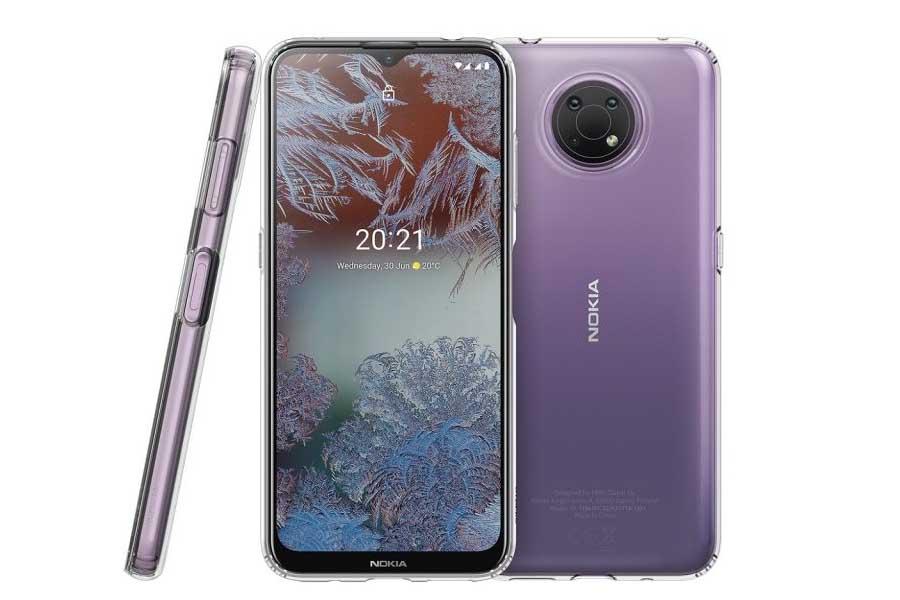 Nokia G10 Front Back