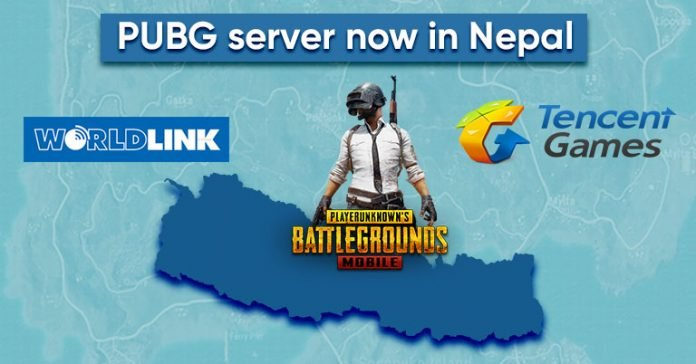 PUBG server now available in Nepal CDN servers Worldlink Tencent gaming