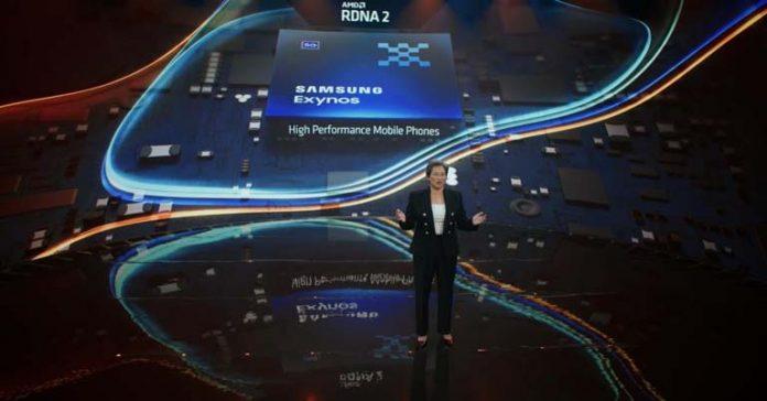 RDNA 2 Graphics solution comin to Exynos Chipset Radeon Samsung Smartphone processor