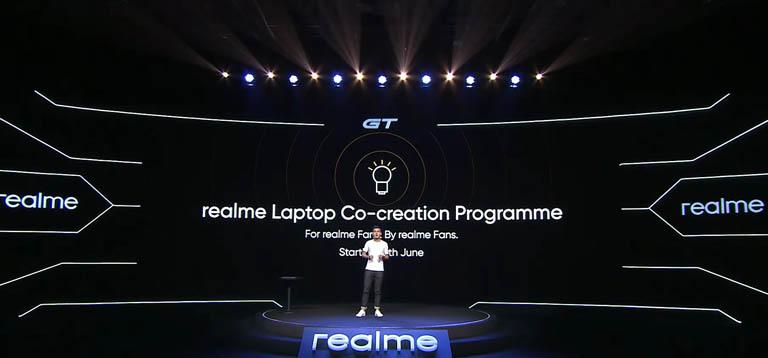 Realme Book Co-Creation Programme announcement