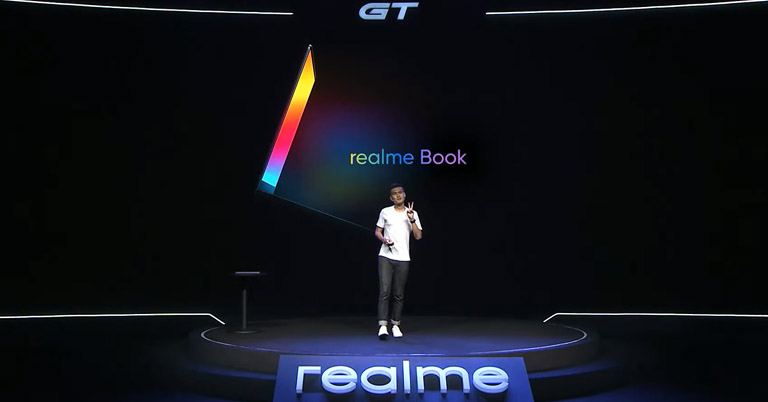 Realme Book Stage Unveiling