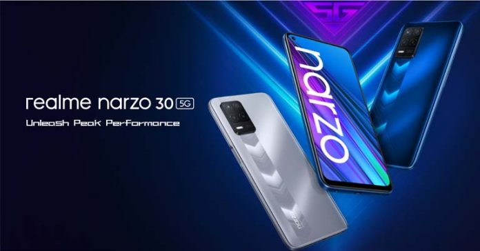 Realme Narzo 30 5G Price in Nepal Specs Full Specifications Features Where To Buy