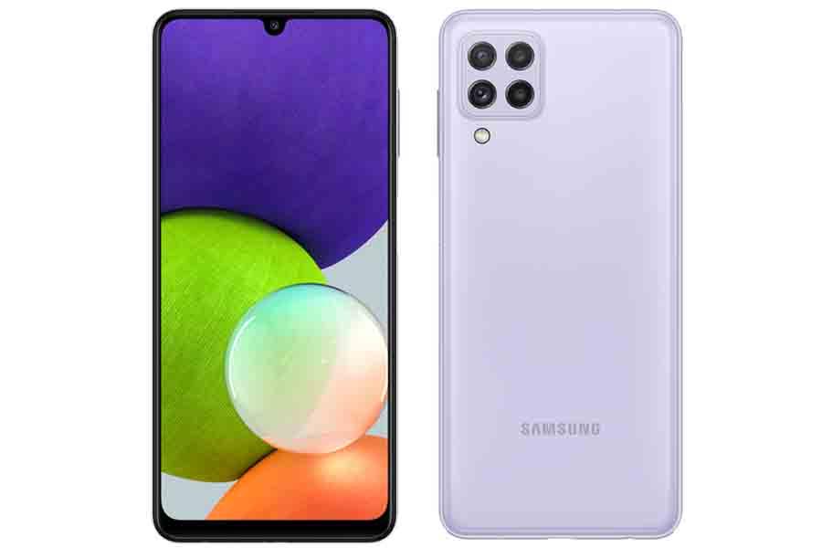 Samsung Galaxy A22 4G Design and Display
