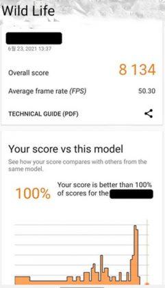Samsung x AMD GPU 3D Benchmark benchmark result
