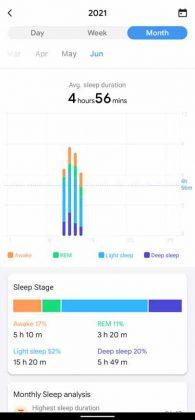 TicWatch E3 - Sleep Monthly 1