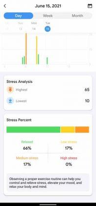 TicWatch E3 - Stress Daily 2