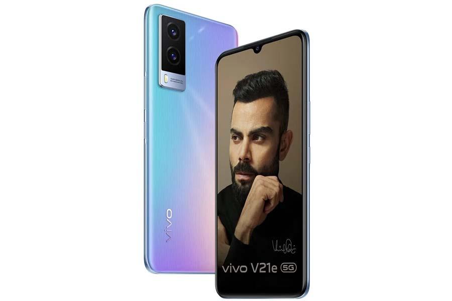 Vivo V21e 5G Design and Display