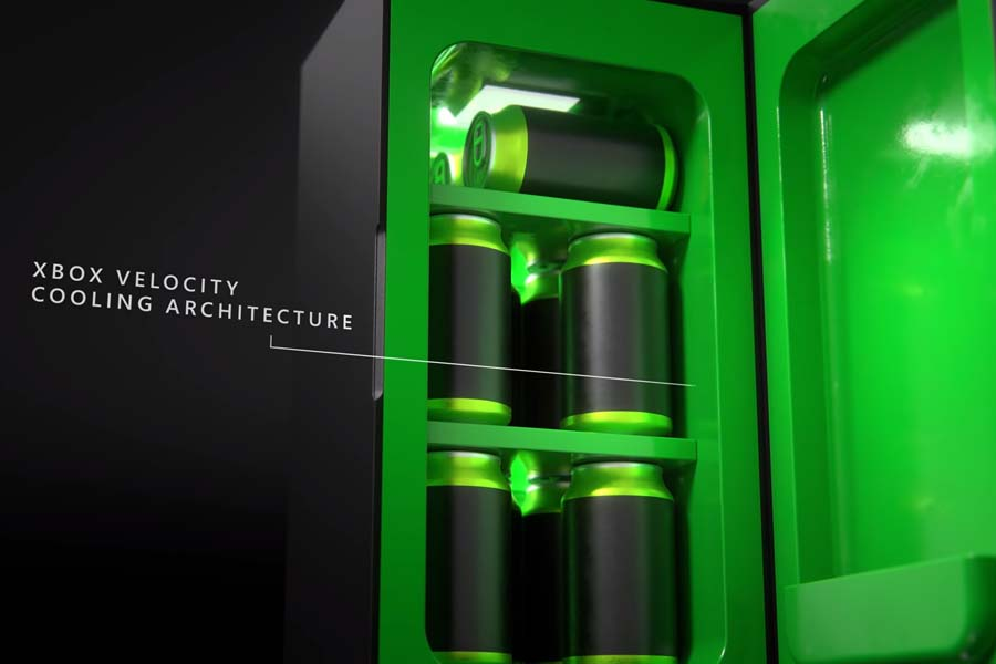 Xbox Series X mini fridge velocity cooling