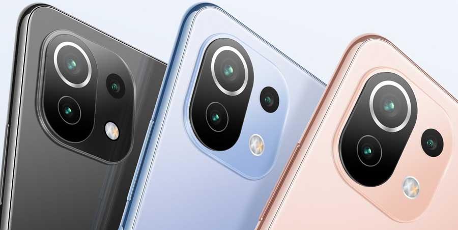 Xiaomi Mi 11 Lite Camera module