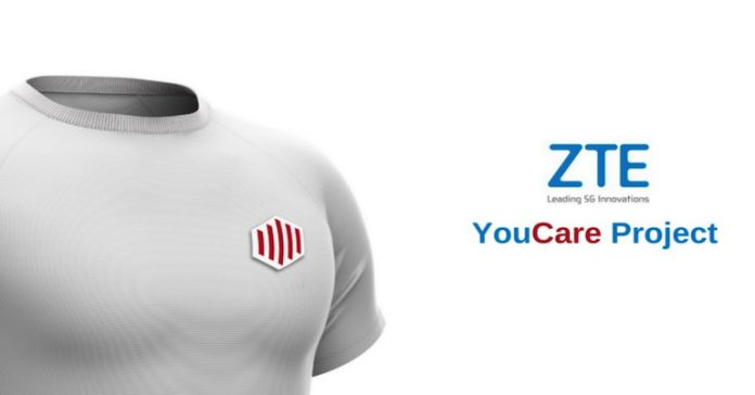 ZTE YouCare 5G Smart T-Shirt Unveiled wearable remote health monitoring analysis