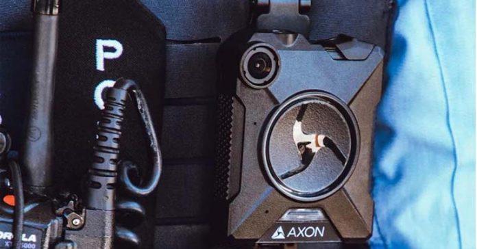 Apple employees wear police-grade cameras