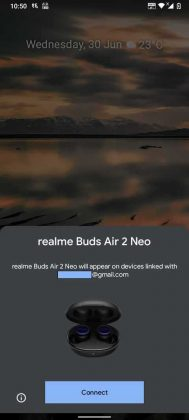 Buds Air 2 Neo - Google Fast Pair Service