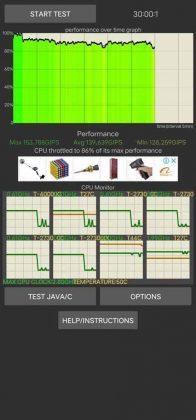 CPU throttle - 30 minutes