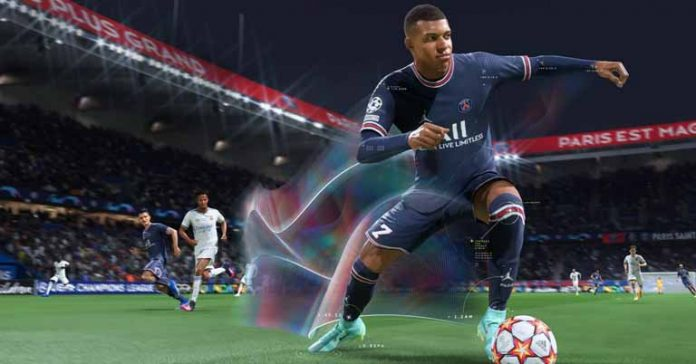 FIFA 22 Poster Overview HyperMotion Technology Launch Compatibility