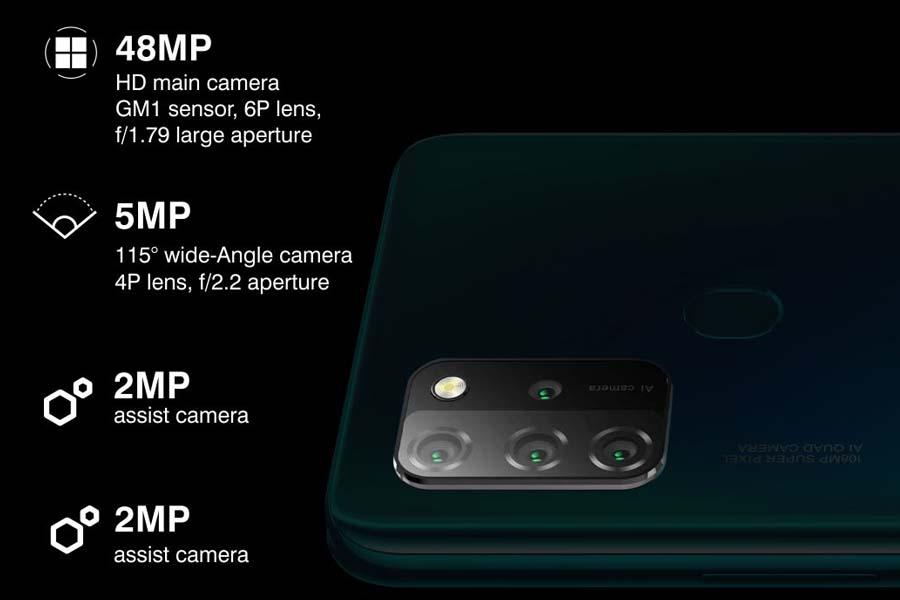 Gionee M12 Camera Setup