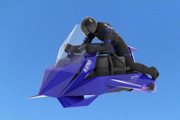 Jetpack Aviation Recreational Speeder