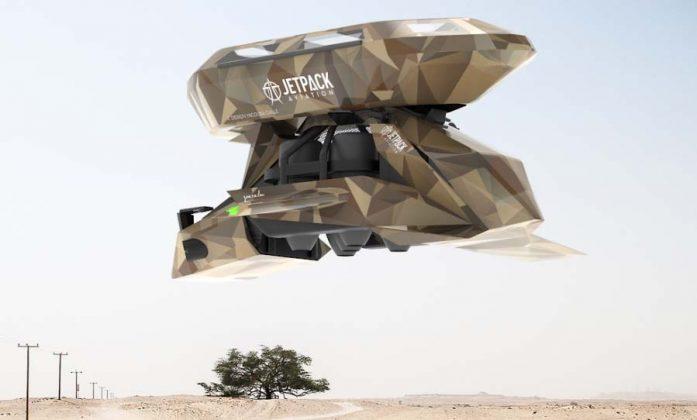 Jetpack Aviation Speeder Cargo