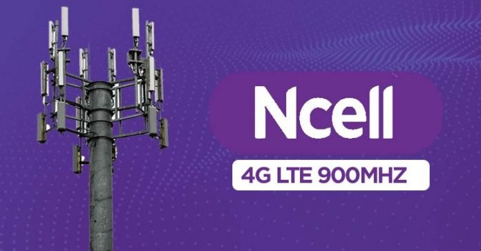 Ncell 4G LTE on 900MHz nationwide expansion VoLTE Carrier Aggregation