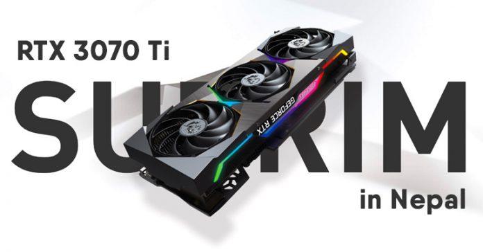 Nvidia GeForce RTX 3070 Ti Price in Nepal Graphics Card MSI Suprim X 8G