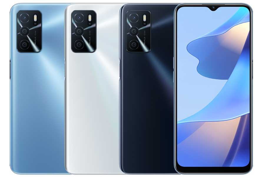 Oppo A16 Color Options
