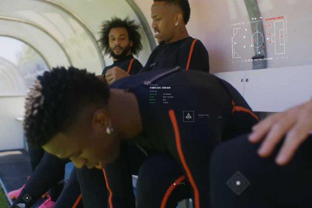 Real Madrid Players in FIFA 22 Motion Sensor Suit