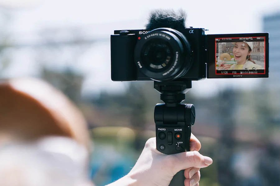 Sony ZV-E10 in shot