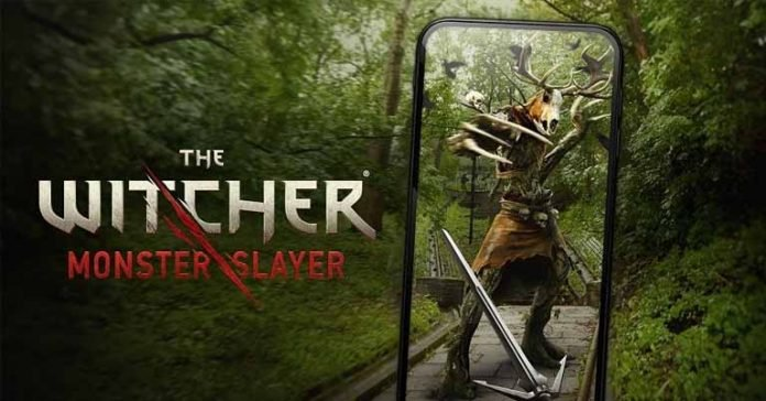 The Witcher on mobile devices