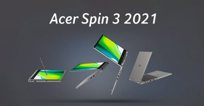 Acer Spin 3 2021 price nepal specs availability launch features where to buy
