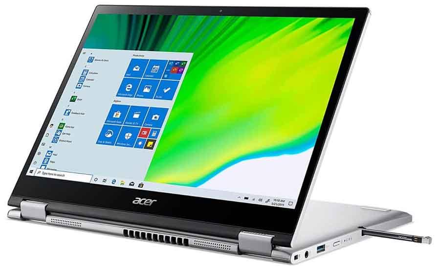 Acer Swift 3 2021 360 hinge design