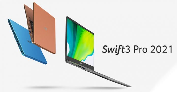 Acer Swift 3 Pro 2021 Price in Nepal Specs Features Availability Launch