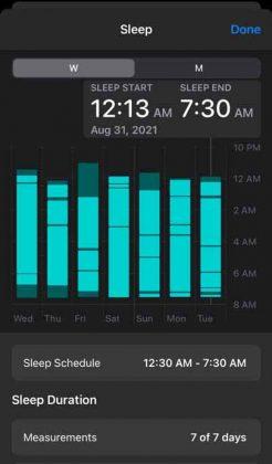 Apple Watch Series 6 - vs - Sleep