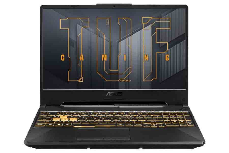 Asus TUF Gaming F15 2021 Display and Keyboard