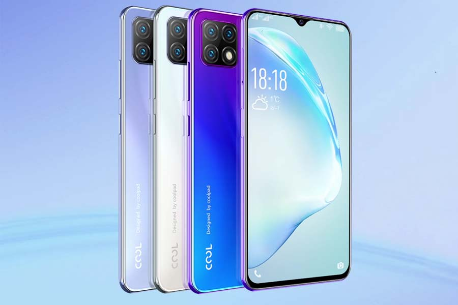 Coolpad 12A Design and Display
