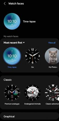 Galaxy Wearable - Watch Faces 1