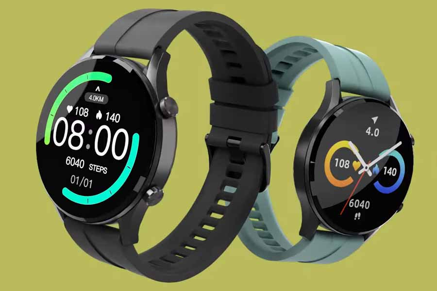 Imilab Smart watch W12 Design and Display