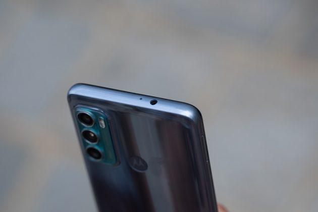 Motorola Moto G60 - Ports - Top