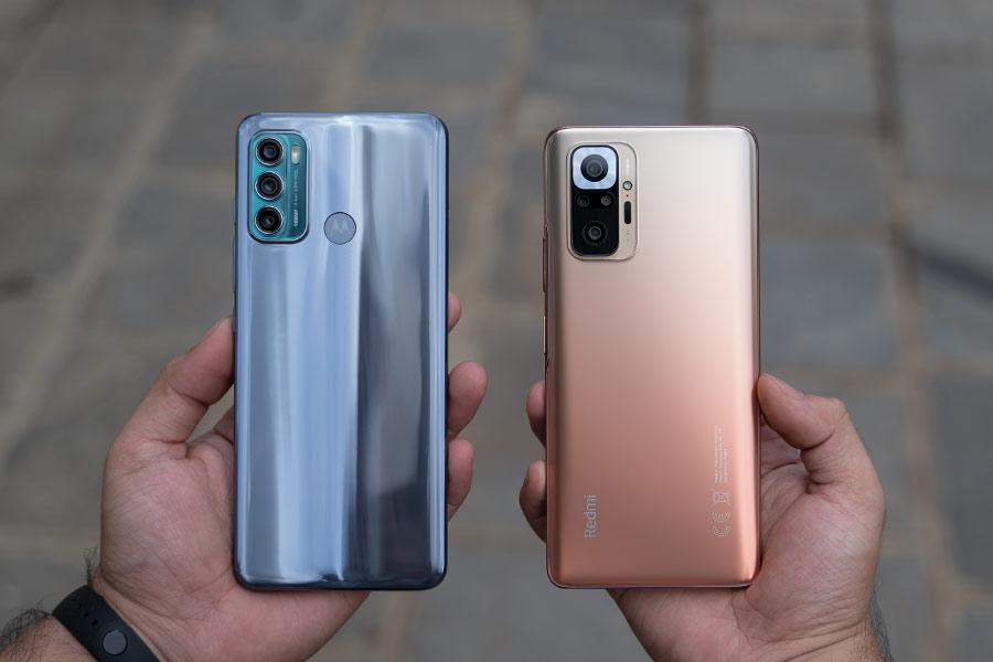 Motorola Moto G60 - Redmi Note 10 Pro - Design