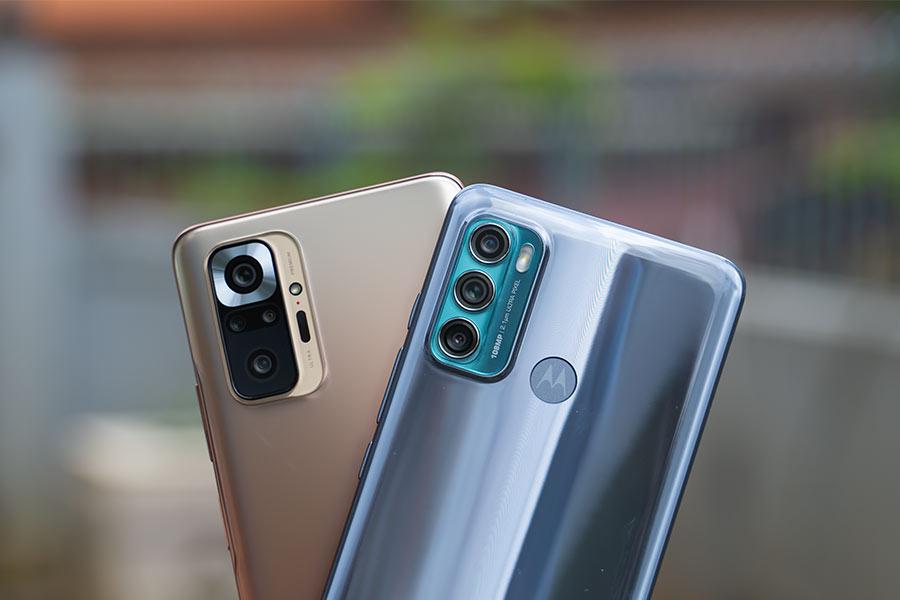 Motorola Moto G60 vs Redmi Note 10 Pro - Cameras