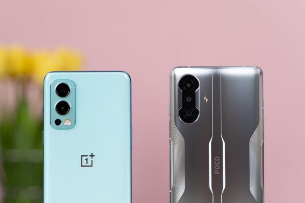 POCO F3 GT - OnePlus Nord 2 - Back Cameras