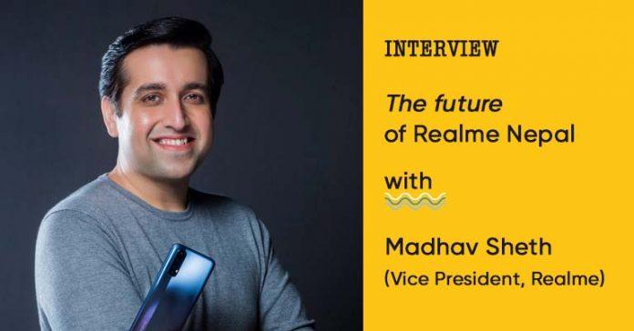 Realme Nepal Madhav Sheth Interview