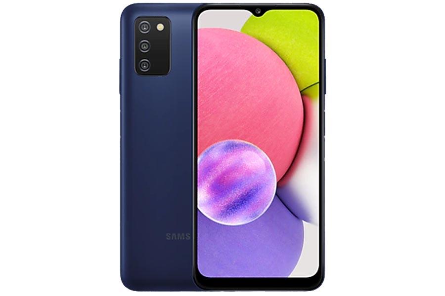 Samsung Galaxy A03s Design and Display