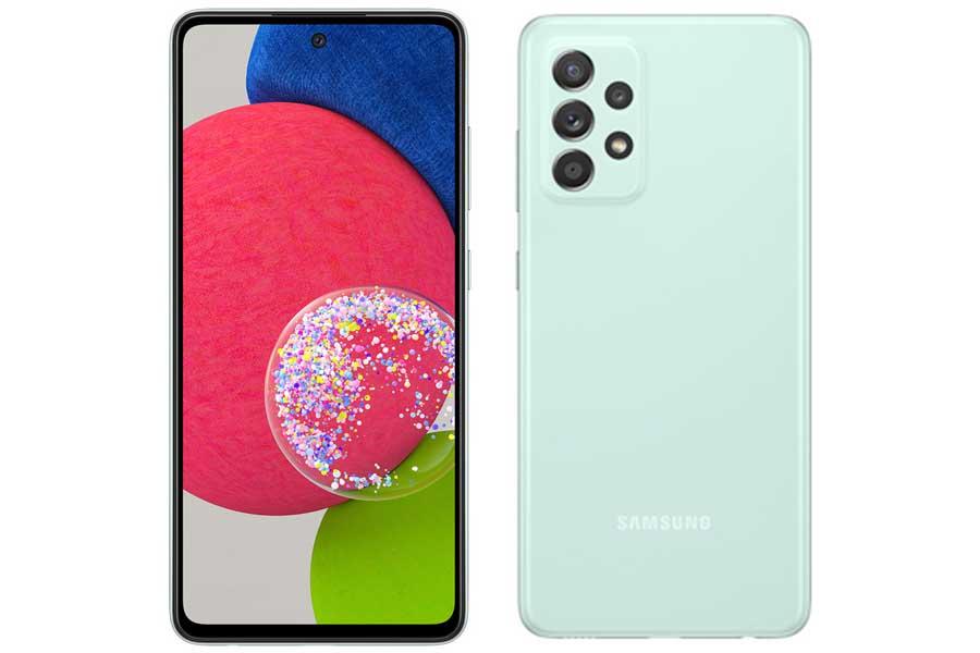Samsung Galaxy A52s 5G Design and Display
