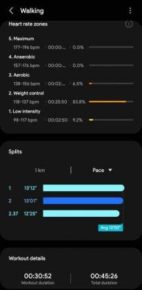 Samsung Health - vs - Workout 4 Galaxy Watch 4 Classic Review